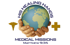 His Healing Hands logo