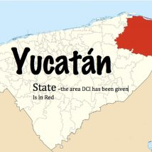 Yucatan 2 Map Red Region