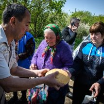 Ukraine - Aid distribution