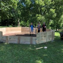 Just Finished Building the Gaga Pit