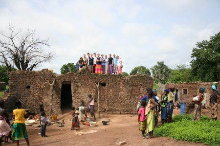 Burkina Team on Roof.JPG