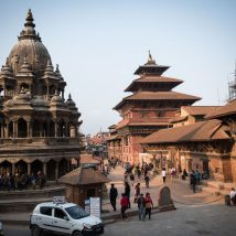 South Asia - temples in Nepal