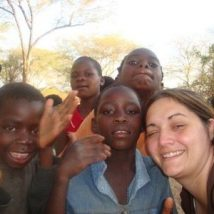 Making new friends in Malawi