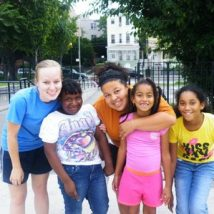 Interns have fun building relationships with NYC children!