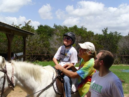 Week of Hope helping at local horse camp