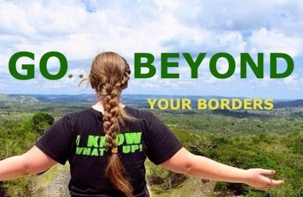 Go Beyond Your Borders