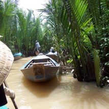 River Boat on Makong Delta